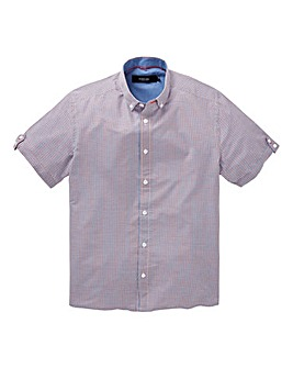 Black Label Short Sleeve Check Shirt