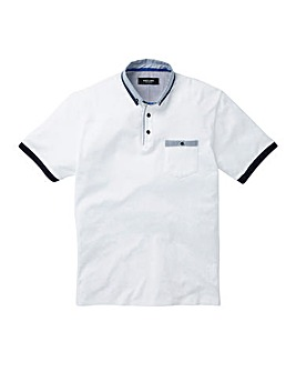 Black Label Pocket Trim Polo Long