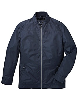 Black Label Smart Nylon Harrington Long