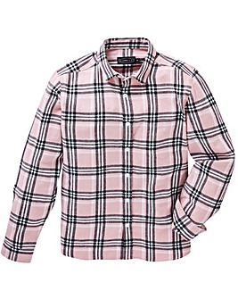 Label J Long Sleeve Check Shirt Long