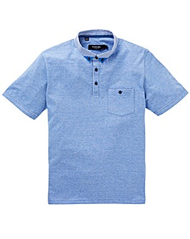 Black Label Stripe Trim Polo Regular