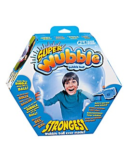 Super Wubble with Pump Blue