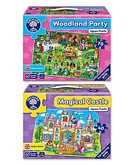 Pack of 2 Magic Jigsaws
