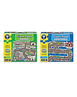 Pack of 2 Giant Jigsaws