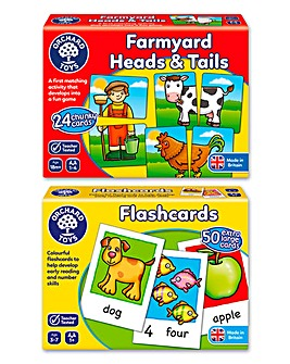 Pack of 2 First Matching Games