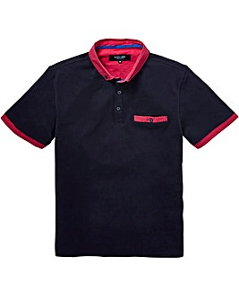 Black Label Bright Trim Polo Regular