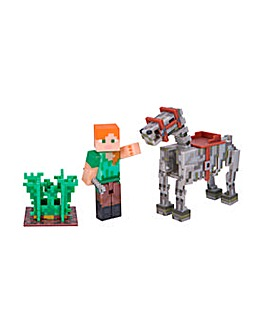 Minecraft Alex & Skeleton Pack