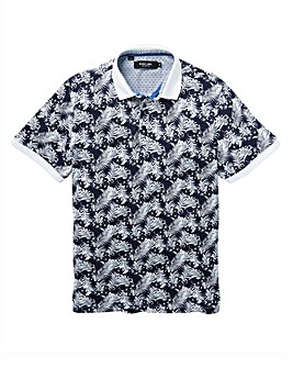 Black Label Printed Polo Regular