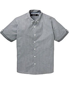 Black Label Checked Trim Shirt