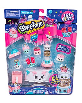 Shopkins Deluxe Pack - Wedding Party Col