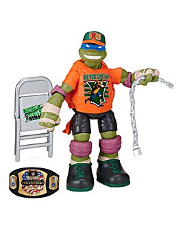 TMNT WWE Mash Up Leonardo as John Cena