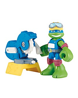 TMNT Half Shell Heroes Construction Leo