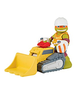TMNT Half Shell Heroes Construction Mike