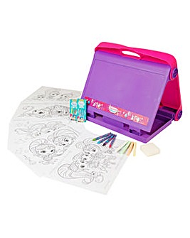 Shimmer and Shine Travel Art Easel