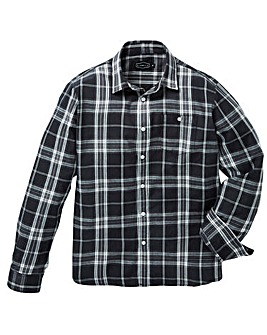 Label J Large Checked Shirt Long