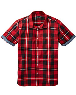 Label J Trim Checked Shirt Long