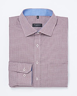 Eterna Mighty Mini Houndstooth Shirt