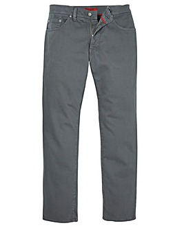 Pierre Cardin Grey Jeans 34in Leg