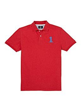Hackett Number Logo Polo Shirt