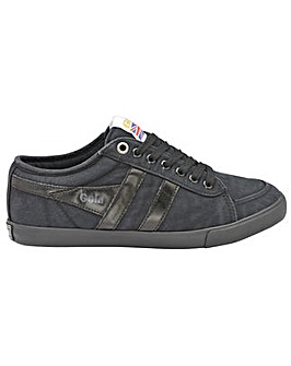 Gola Comet Canvas retro lace up trainers
