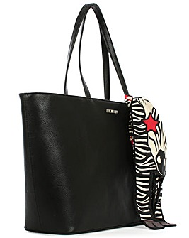 Love Moschino Scarf Shopper Bag