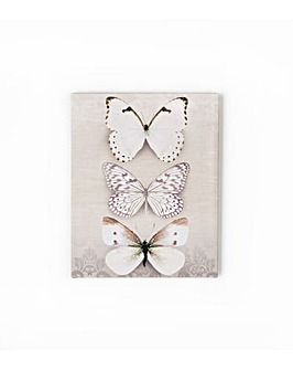 Butterfly Trio Wall Art