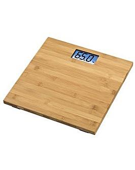 Xavax Rosie Bathroom Scales - Bamboo