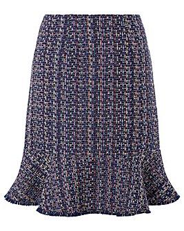 Monsoon Tye Tweed Skirt