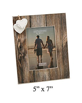 Juliana Photo Frame With Hanging Hearts