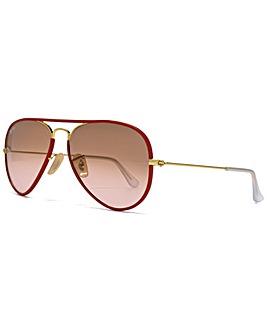 Ray-Ban Full Colour Aviator Sunglasses