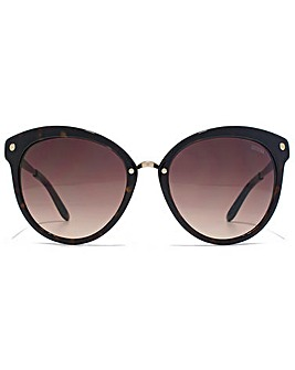 Guess Flared Round Sunglasses