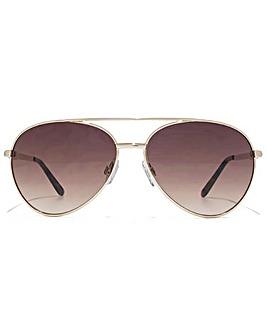 Carvela Diamante Aviator Sunglasses