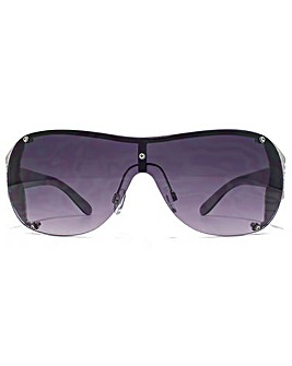 Carvela Metal Trim Visor Sunglasses