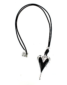Lizzie Lee 3D Heart Necklace