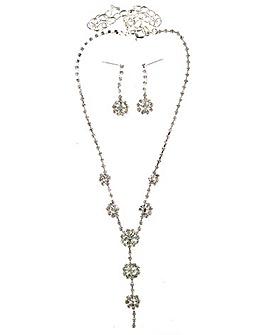 Lizzie Lee Flower Jewellery Set