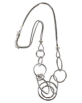 Lizzie Lee Link Ring Necklace