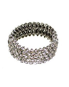Lizzie Lee Diamante Stretch Bracelet