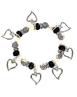 Elasticated Fresh Water Pearl Bracelet