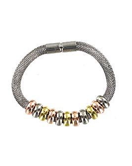 Mesh Chain Beaded Magnetic Fastener