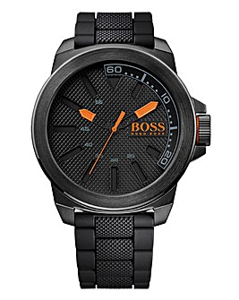 Boss Orange Ionic Black Plated Watch