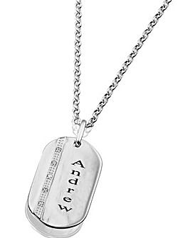 Precious Sentiments Dog-tag Pendant