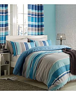 CL Textured Stripe Duvet Set