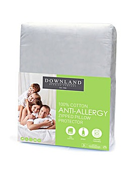 Zipped AntiAllergy Pillow Protector Pair