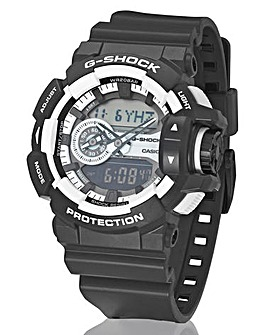 G-Shock Gents Monochrome Strap Watch