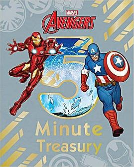 Marvel Avengers 5 Minute Treasury