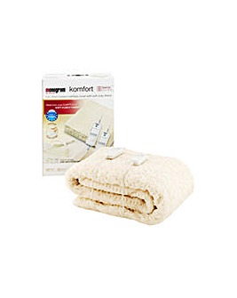 Komfort Fleece Heated Mattress Cover  KS