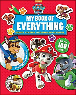 Paw Patrol My Book of Everything