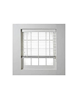 Shutter Effect Blind - 120x160cm - White