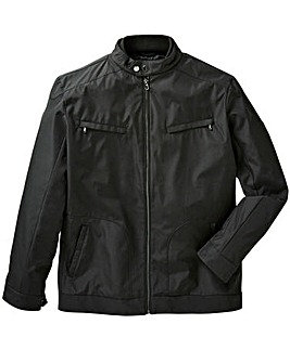 Black Label Nylon Harrington Jacket