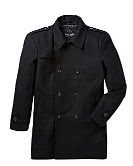 Black Label Wool Trench Coat Regular